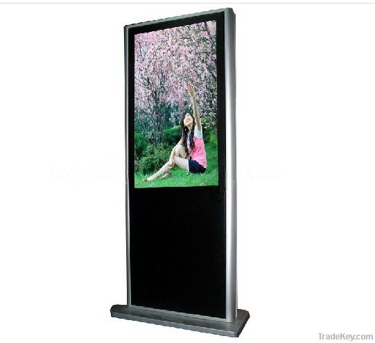 Standing floor vertical advertising player touch display