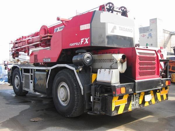 Used Tadano Truck Cranes