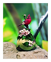 American Bird Collection Cardinal Musical Figurine