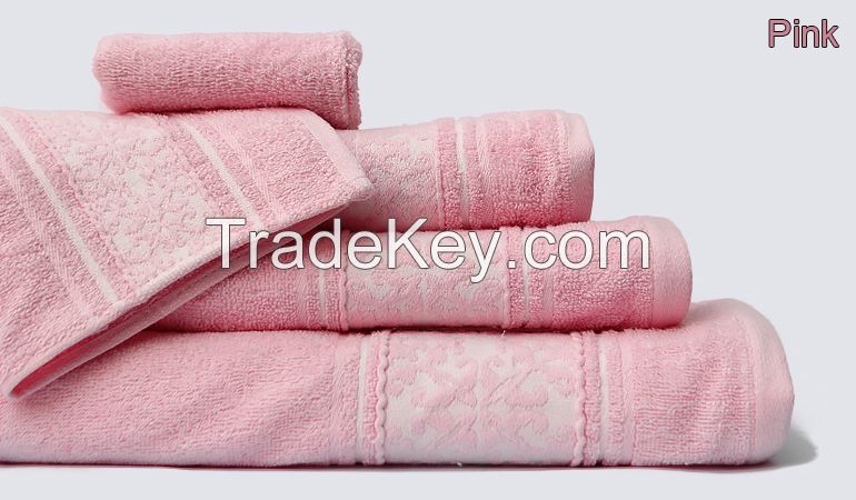 100% Cotton Better Combed Bath Towels