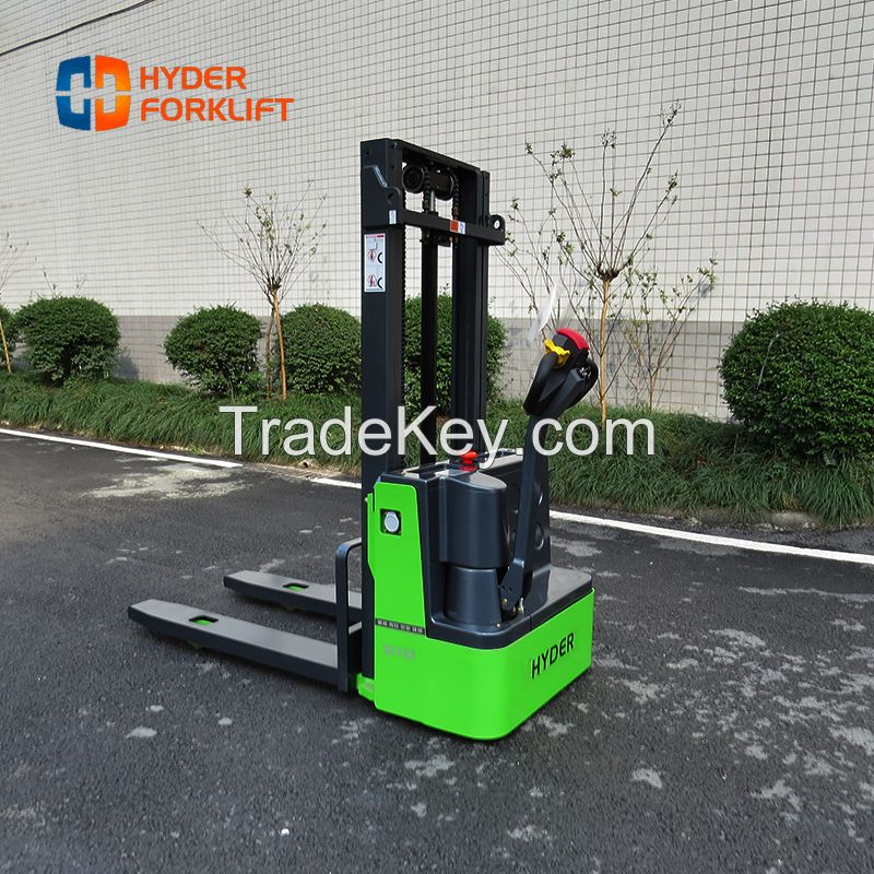 Fully electric stacker, warehouse handing equipment stacker with good price