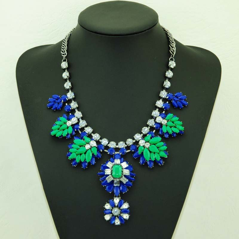 2014 Hot-Sell Women Beaded Charm Necklaces