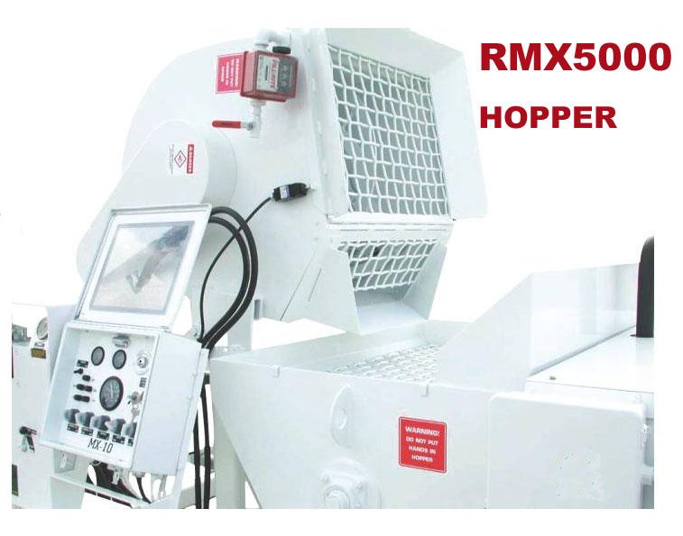 rmx-5000 refractory shotcrete equipment