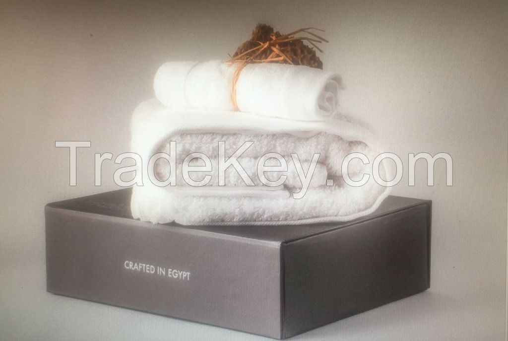 %100 Egyptian cotton towels