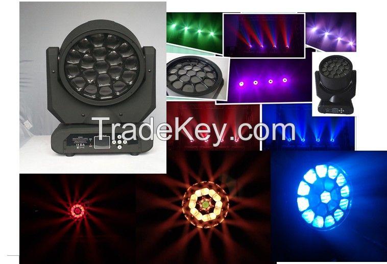 LED 19*15W Beam Moving Head Light/stage lighting/led effect lights