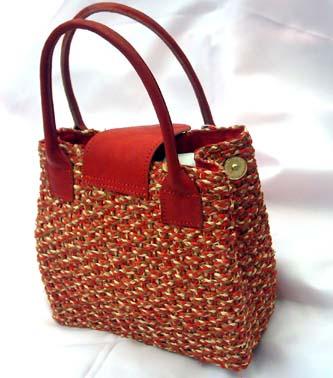 Raffia bags