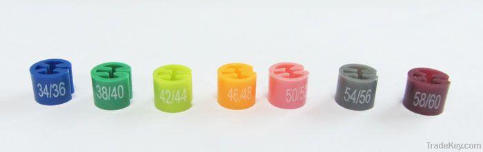 ring sizer, ring sizer for hanger, plastic ring sizer