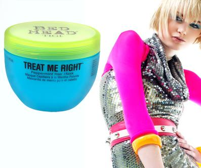 Bed Head TIGI Treat me right (Peppermint Hair Mask)