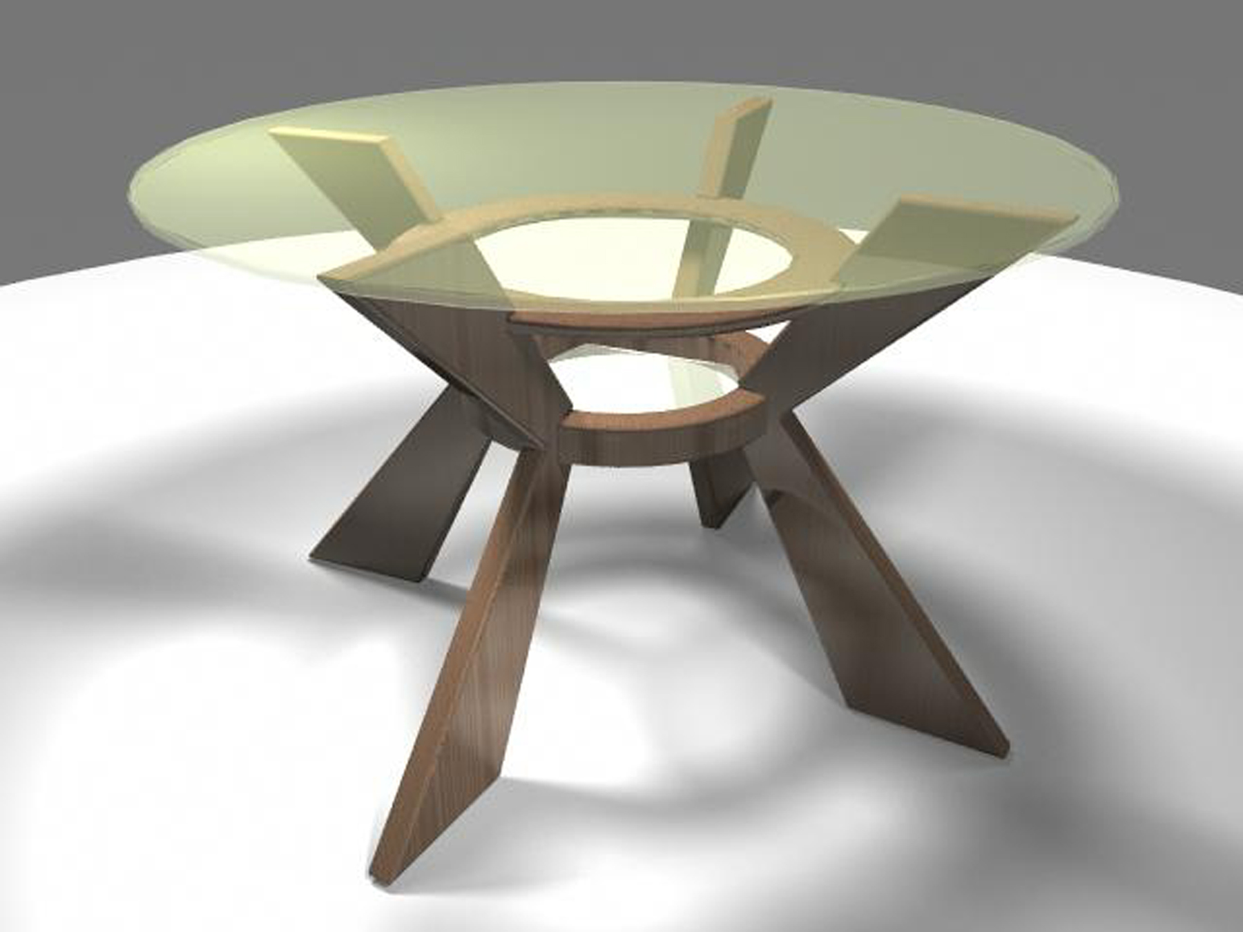 Halo Contemporary Dining Room Table