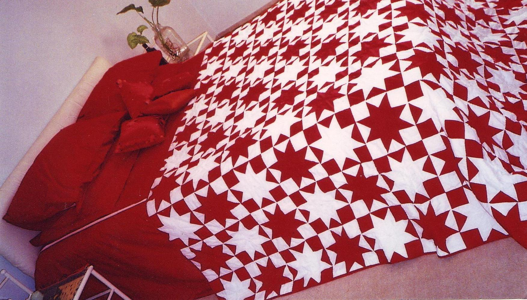quilted bedding