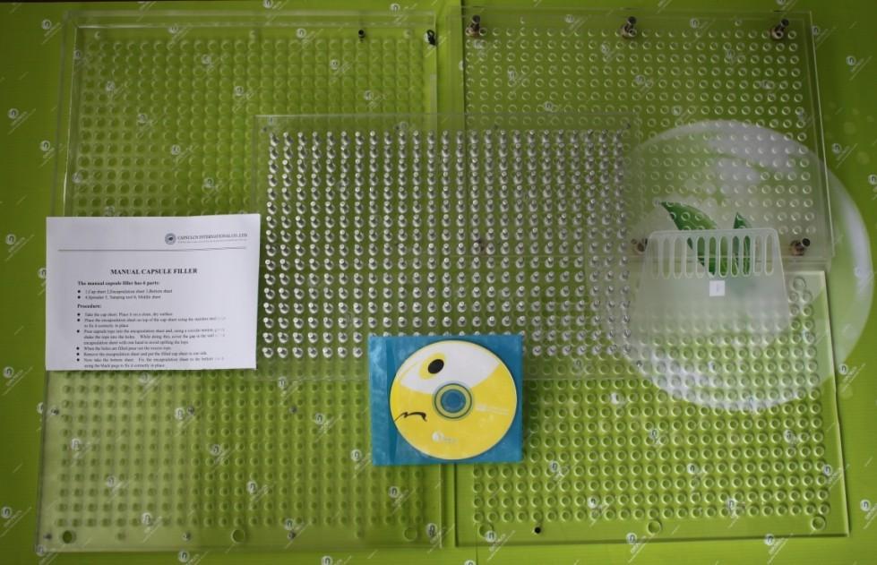 Manual Capsule Filler Machine