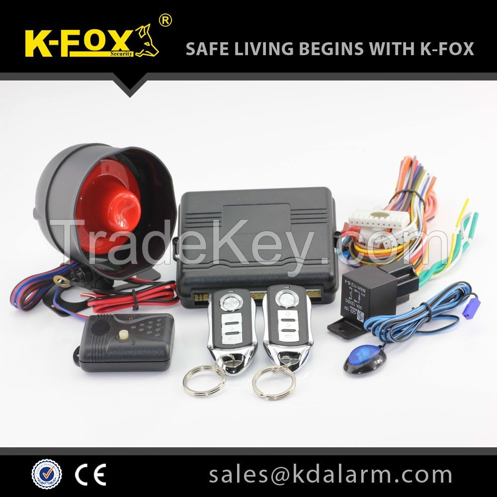 car alarm system KD4000 with power window function