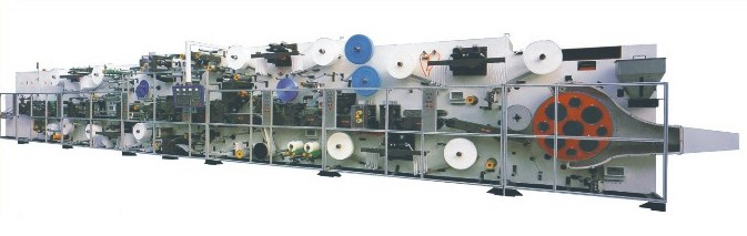 Fully Automatic High-speed Baby Paper Diaper Production Line