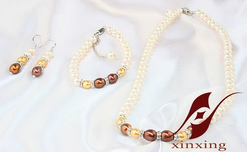 Sell Bridal jewelry for black Pearl Jewelry Set