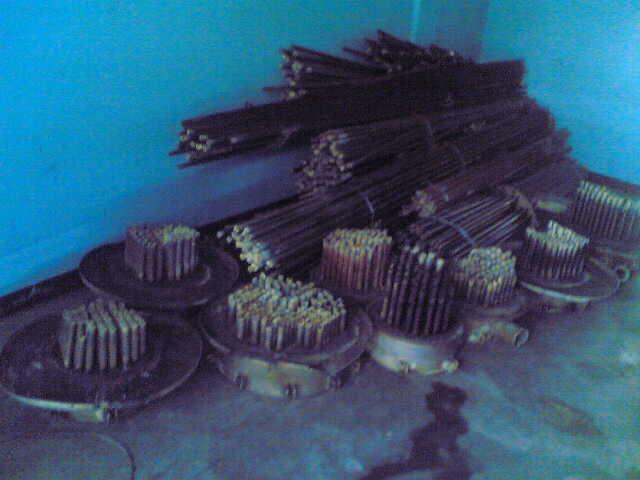 titanium scrap tubes