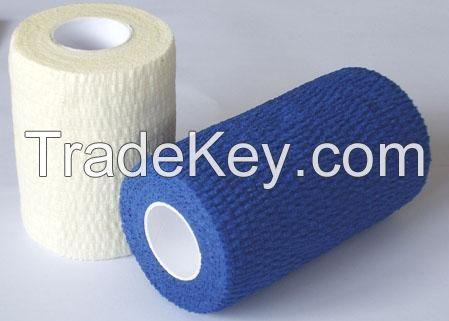 latex free cotton cohesive elastic bandage