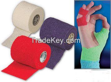 latex free non woven cohesive flexible bandage
