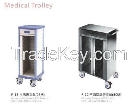 ABS Trolley for Record(50 Shelves)