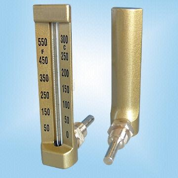 Angular Board-Type Thermometers