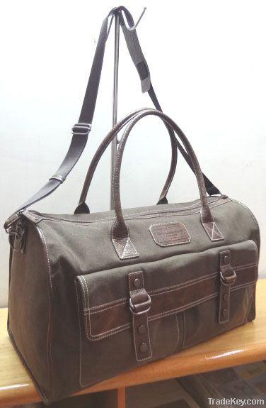Canvas duffel bags