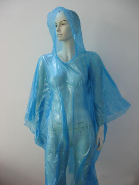 Disposable PE Poncho