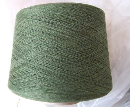 cashmere/poly blended yarn