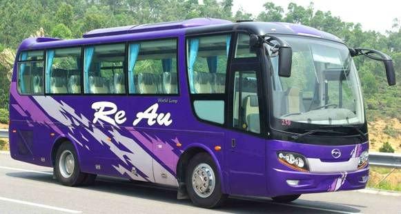 mid-distance tourist bus