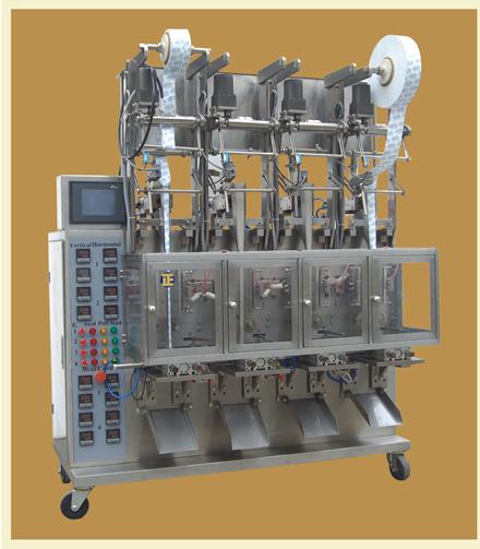 Four-Line Grain Packaging Machine