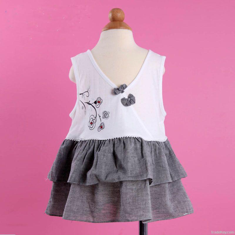 New Babies Girls Princess Skirt No- sleeves