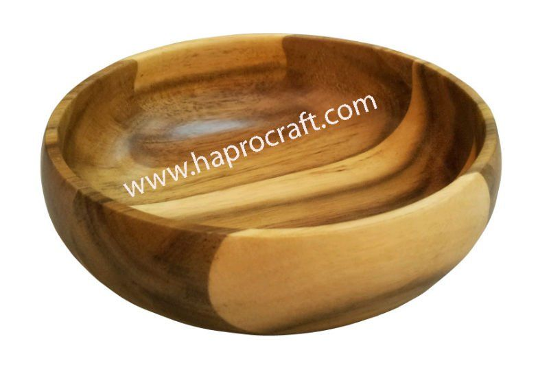 Round Wooden Small Bowl (TH 2972)