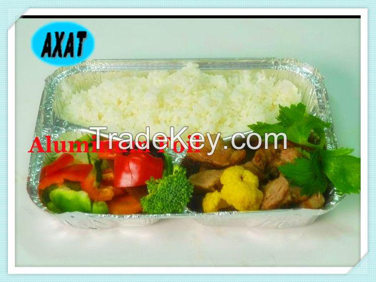 aluminum foil container, foil container fis, hot food airline aluminum foil container without smell