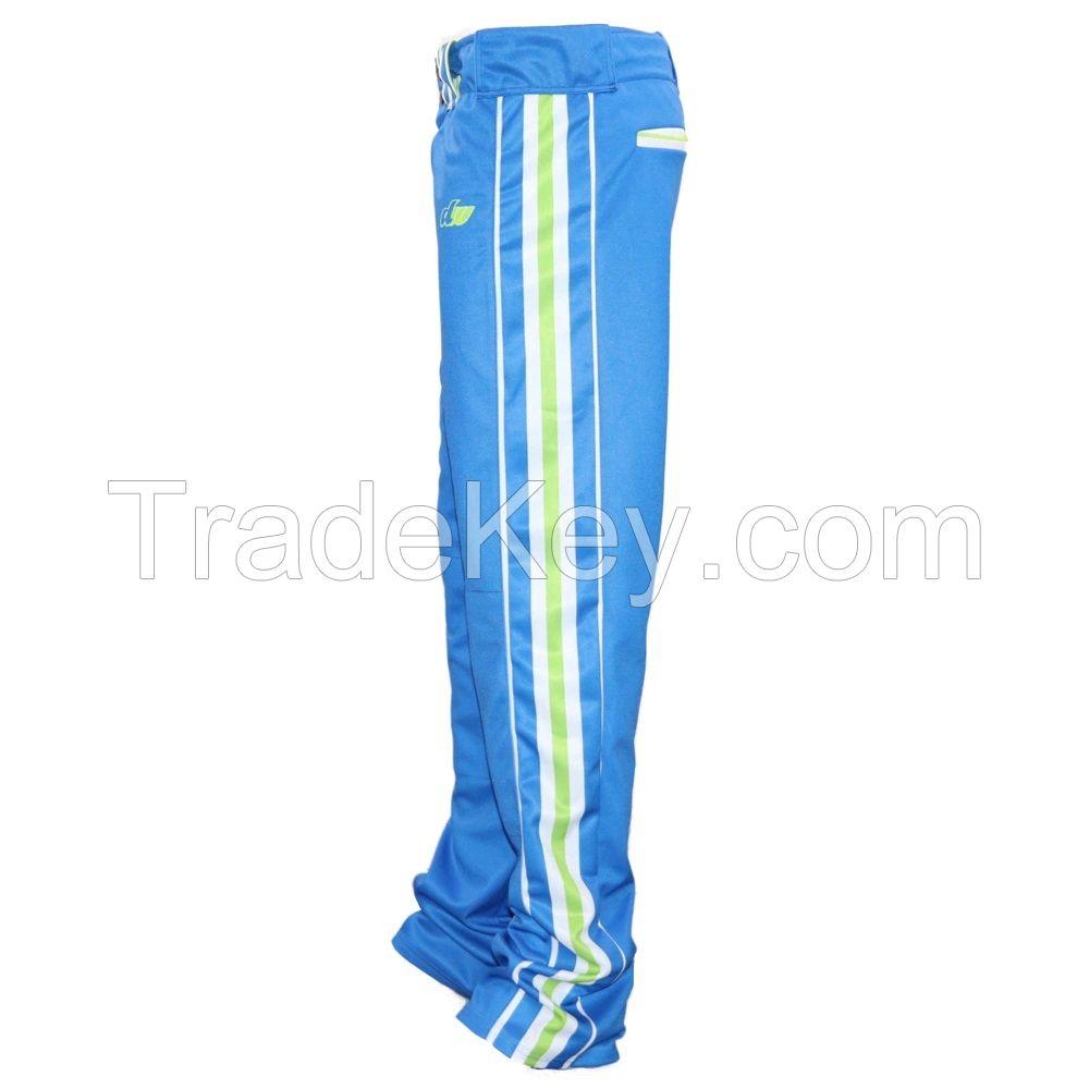 Wholesale Custom Men Team Baseball Jersey Pants Sublimated Baseball Pants
