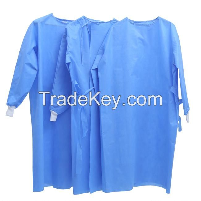 disposable surgical gown SMS non woven