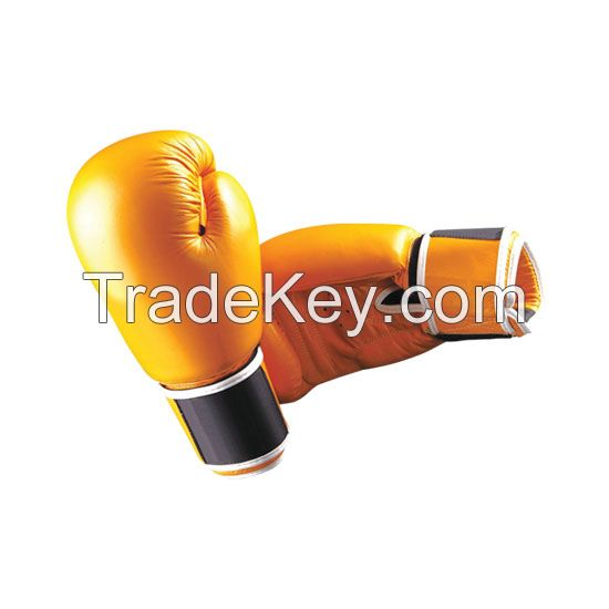 High Quality Pu Leather Boxing Gloves Training Pro Oem Odm Custom Logo Real Leather Design Your Own Boxing Gloves