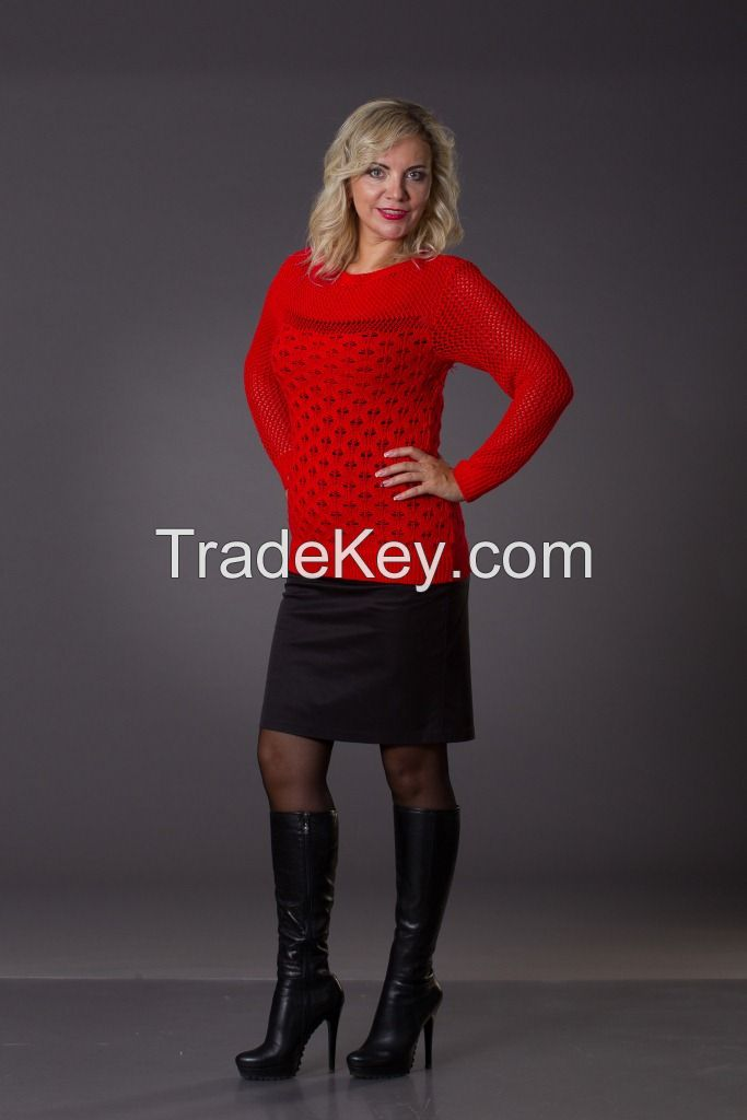 Womens knitted sweaters