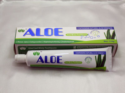 Aloe Cool Minty Toothpaste