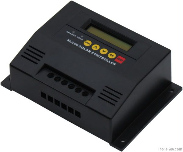 SLC50 solar system controller with display