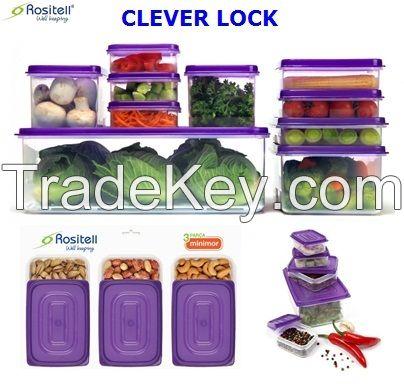 Claver Lock Food Storage Boxes