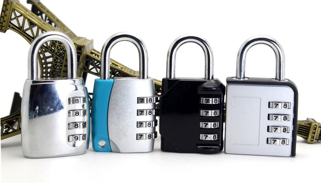 Top Security Resettable Luggage Combination Lock Combination Padlock