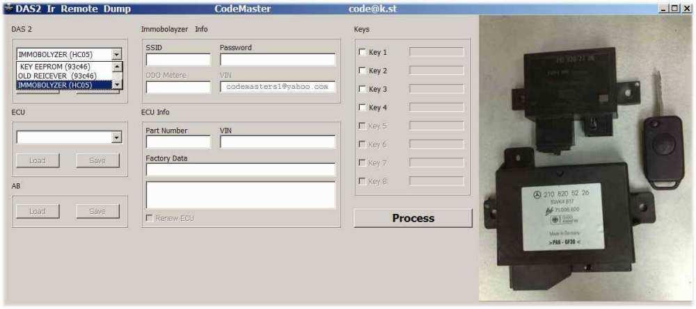 DAS2  InfraRed remote maker