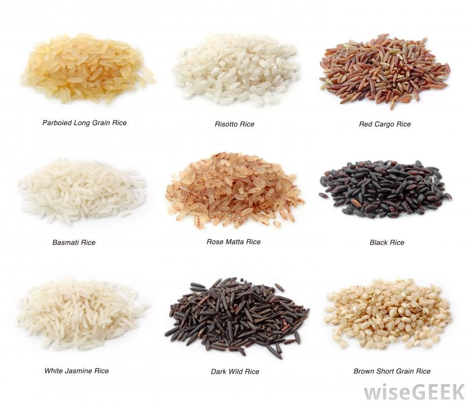 Rice - Thailand, India, Vietnam, Pakistan, ect.