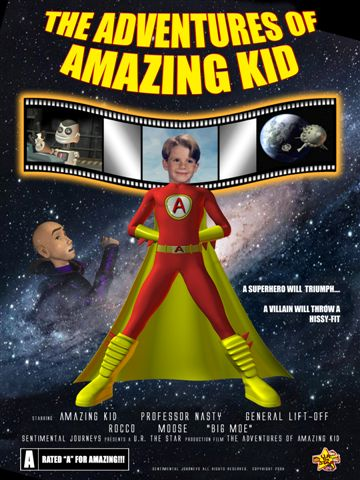 Amazing Kid - Animated DVD starring YOU
