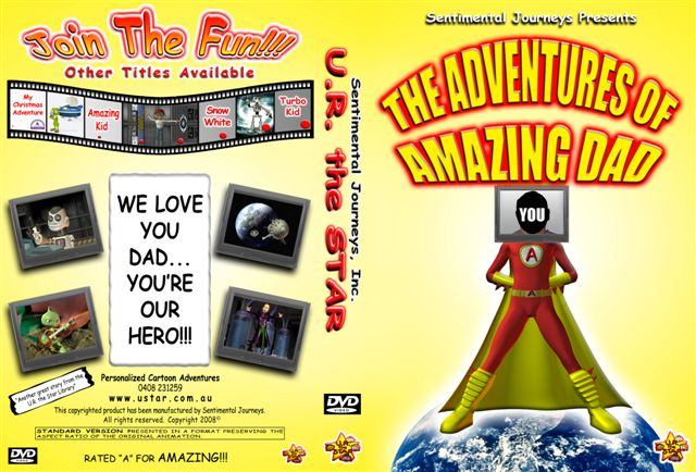 Amazing Dad DVD starring YOU