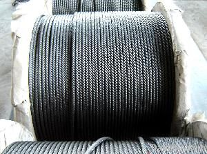 Steel wire rope for lifts or Elevator Ropes 8X19S+FC (ISO certificate)