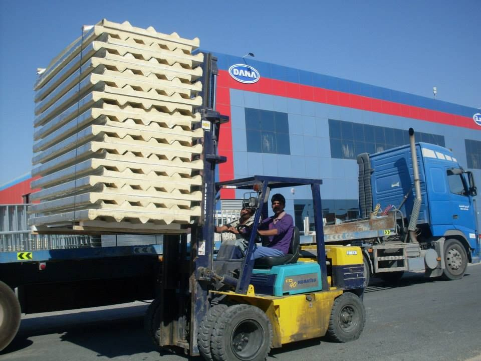 ROOFING INSULATED PANEL - PROFILE-CLADDING IN UAE , SAUDI , IRAQ, EGYPT