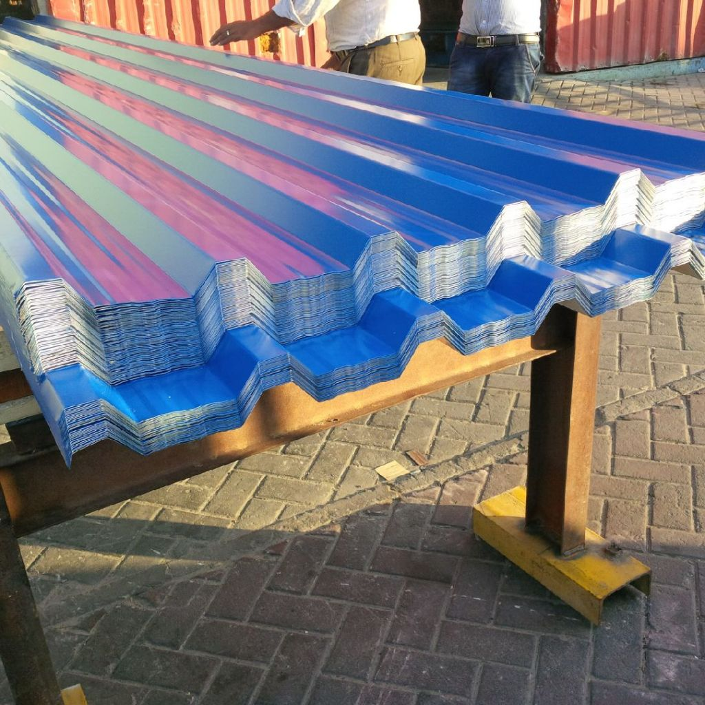 Aluminum roofing sheets  , Aluminum corrugated sheets , profiles , claddings in UAE , Saudi Arabia