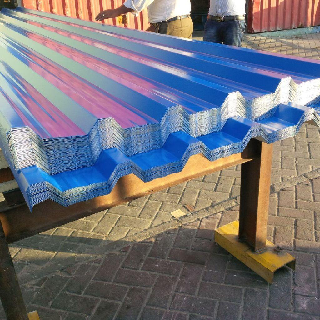 ANGOLA - ALUMINUM/GI SINGLE SKIN PROFILE SHEET - DANA STEEL