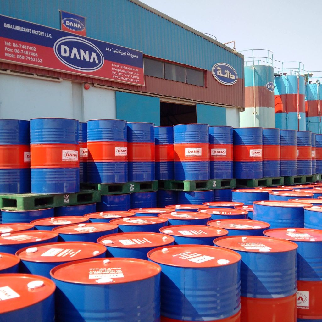 DANA Gear Oil , made in UAE for Tunisia, Gambia, Tanzania, Ethiopia, Mombasa, Angola , Zimbabwe