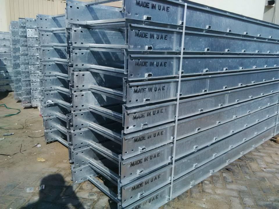 QATAR HOT DIP GALVANIZED PAINTED Cable Trays manufacturer