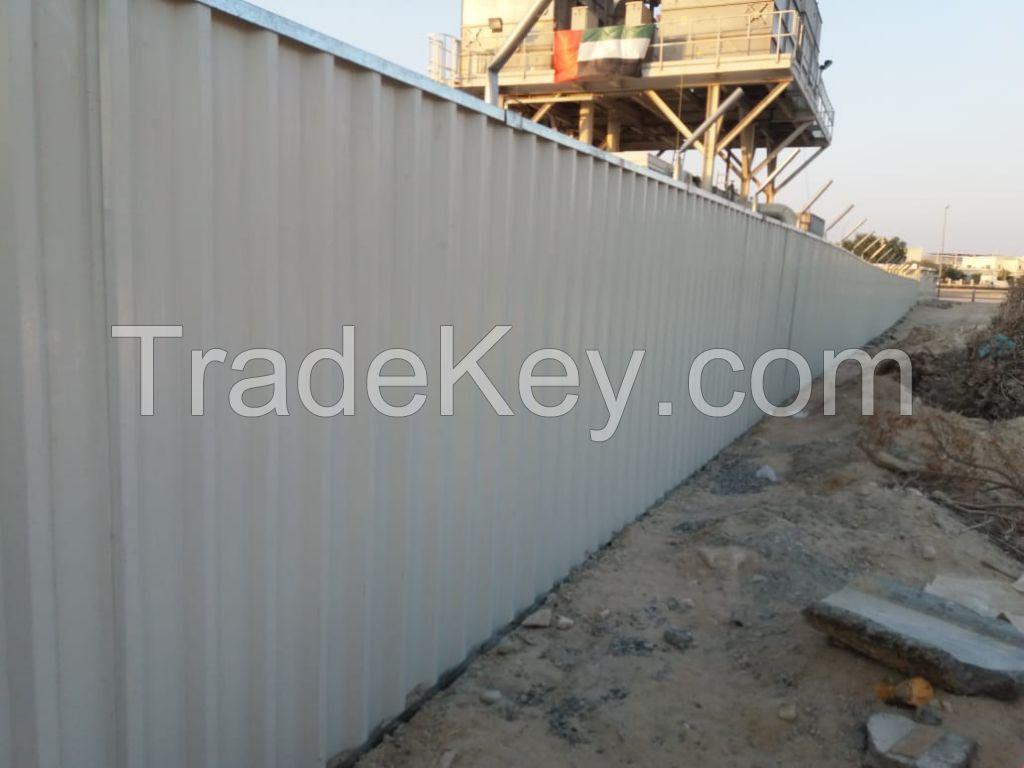 Fence Hoarding Shinko Construction Site Fencing In Dubai Ajman Sharjah Abu Dhabi